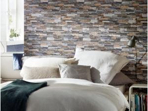 Holztapete  Tapeten in Steinoptik & Holzoptik online kaufen