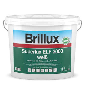 Brillux Superlux ELF 3000 / 15 Liter 0095 weiß